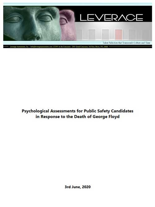 Psychological Evaluations for Public Safety Candidates in Diverse Urban Communities